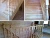 Светлая деревянная лестница п. Радужный