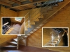 Открытая лестница без подступенек