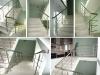 Ограждения для лестницы в выставочном комплексе Аскона