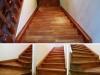 Лестница из лиственницы п. Приволье