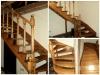 Деревянная лестница в подмосковье