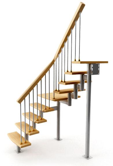 Винтовые лестницы как сделать своими руками