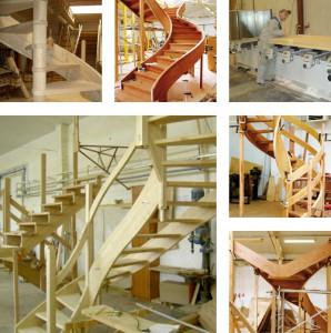 Цех по производству лестниц